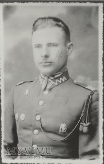 Plutonowy Stanisław Mirowski z 25 Pułku Ułanow