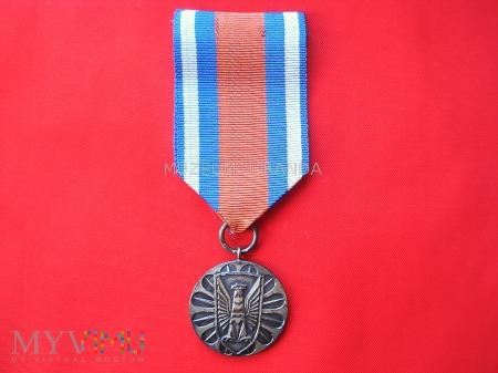 Za zasługi w ochronie porządku publicznego-srebrna