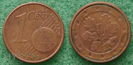 1 EURO CENT 2004 F