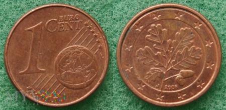 1 EURO CENT 2008 J