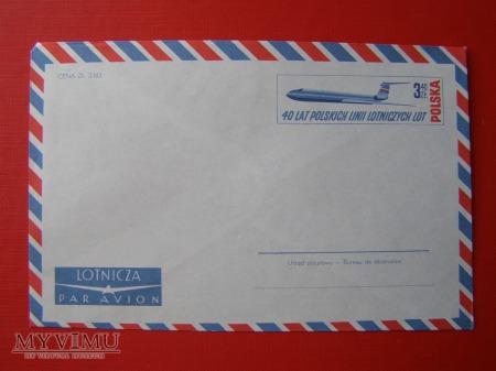 50. 40 lat Polskich Linii Lotniczych LOT