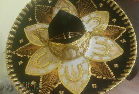 Oryginalny meksykański kapelusz, SOMBRERO MARIACHI