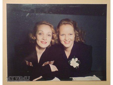 Marlene Dietrich MARLENA z córką (Maria Riva)