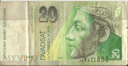 Słowacja 20 SK - Koron