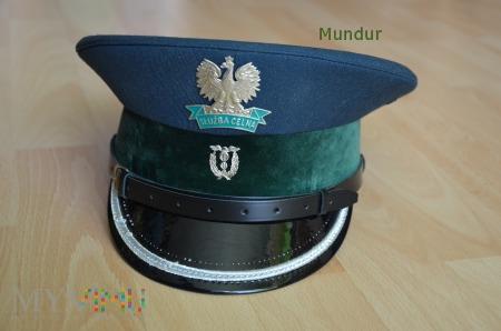 Czapka oficera młodszego Służby Celnej