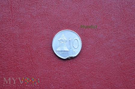 Moneta słowacka: 10 h