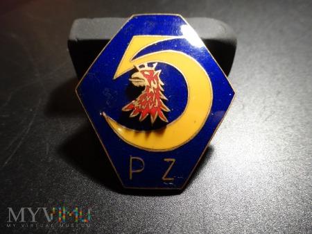 5 Pułk Zmechanizowany wersja odznaki