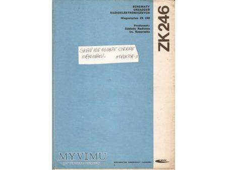 Instrukcja serwisowa magnetofonu ZK-246