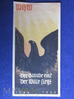 Plakietka propagandowai-Turplaketten WHW