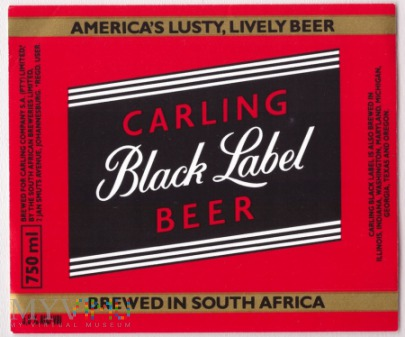 South Africa, Black Label