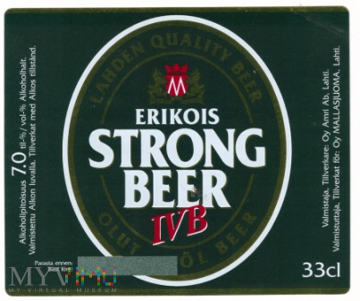 Erikois, strong beer