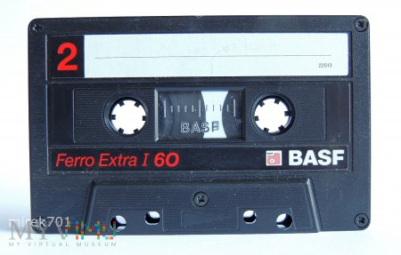 Basf Ferro Extra I 60 kaseta magnetofonowa