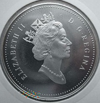 Duże zdjęcie 1 dollar Kanada 1993 r.