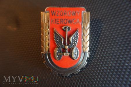 Wzorowy Żołnierz Specjalista - Kierowca z 1951r.