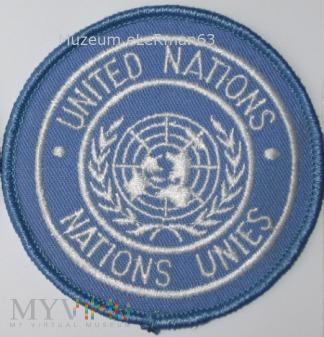 Oznaka Organizacji Narodów Zjednoczonych. Wz. 3