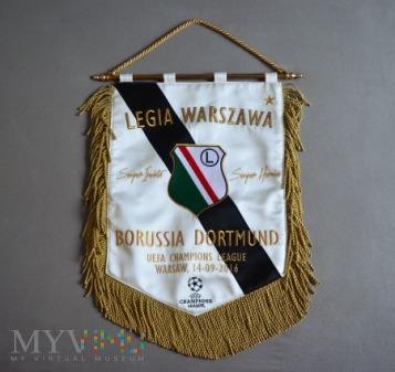 2016 / Legia - Borussia Dortmund / Liga Mistrzów