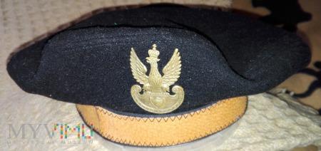 Czarny beret II RP? nierozpoznany (replika?)
