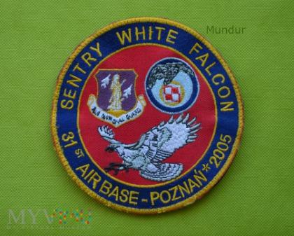 Oznaka pamiątkowa Sentry White Falcon 2005