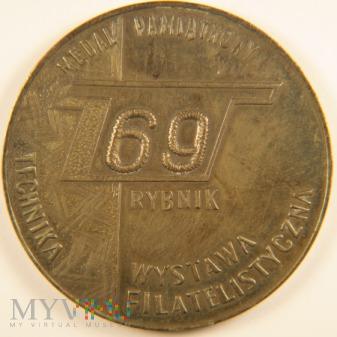 1969 - Wystawa Filatelistyczna Technika Rybnik