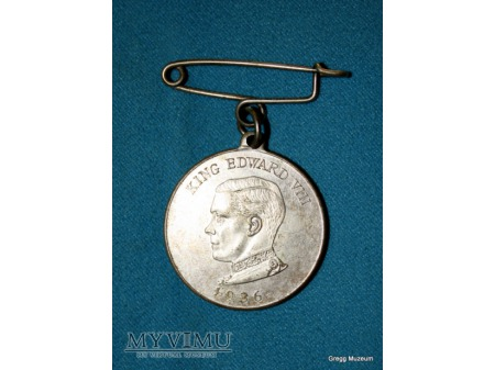 Medal jubileuszowy Edward VIII