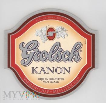 Grolsch, Kanon