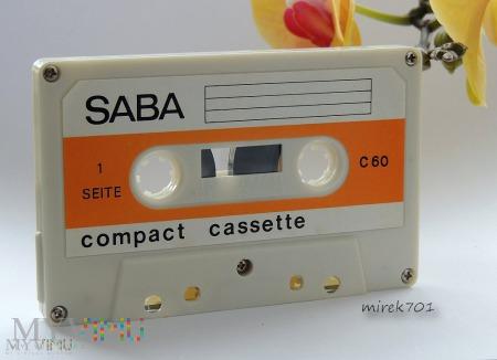 SABA kaseta magnetofonowa