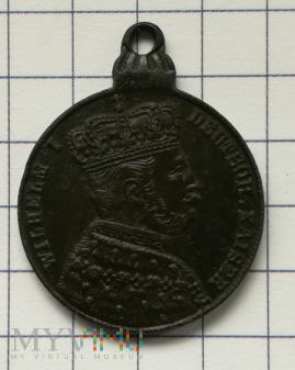 Medalik Wilhelm I