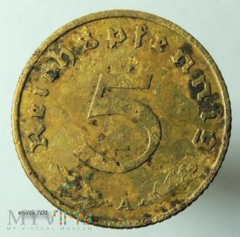 5 reichspfennig 1938 A