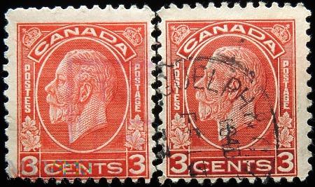 Kanada 3c Jerzy V
