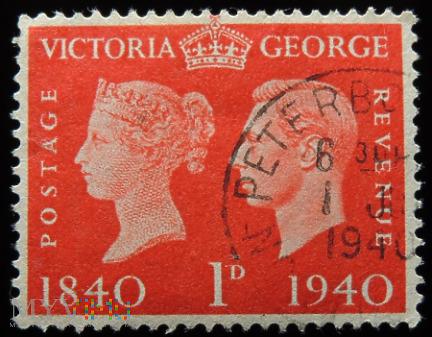 1d Jerzy VI i Victoria