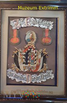 Pamiątka z służby w 10 pułku ułanów Zullichau