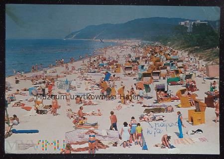 MIĘDZYZDROJE Plaża w głębi Kawcza Góra