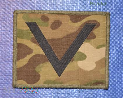 Oznaka stopnia - sierżant BOR