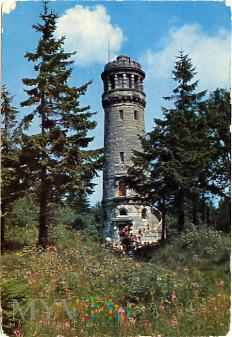 Góry Sowie - wieża widokowa na Wielkiej Sowie
