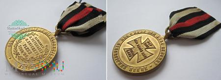 Duże zdjęcie Kriegerverein Pless - Pszczyna. Medal z 1896 roku.