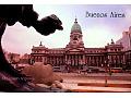 Arg. Kwadryga na gmachu Kongresu w Buenos Aires