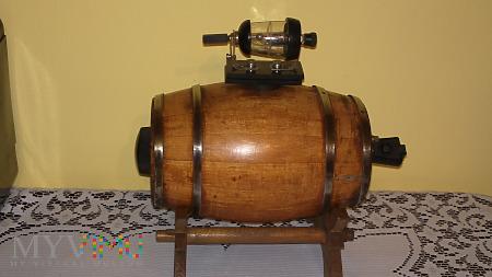 Detektor kryształkowy 1920 rok beczka Radio!!!