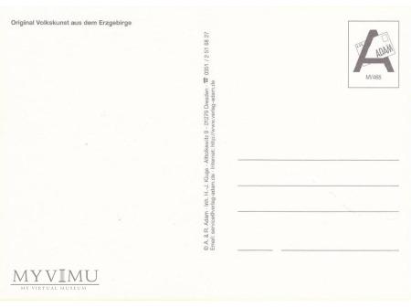 Niemiecka pocztówka - Dziadek do orzechów