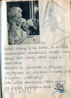 James Dean Marina Vlady + scrapbooking