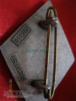 odznaka 4RE (4ème Régiment étranger)
