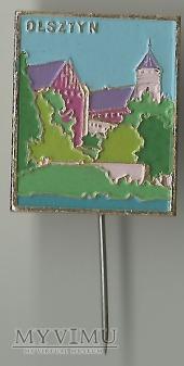 Olsztyn - zamek - znaczek