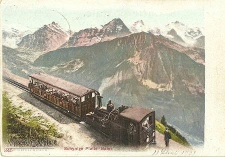 Szwajcaria - Schynie Platte-Bahn