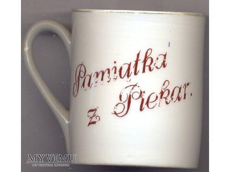 Pozdrowienia z Piekar - kubek porcelanowy