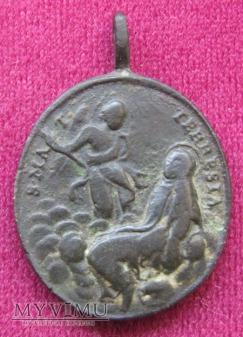 Medalik św. Teresy od Jezusa i św. Jana od Krzyża