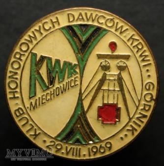 KLUB HONOROWYCH DAWCÓW KRWI KWK MIECHOWICE
