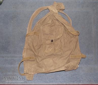 Radziecki plecak wojskowy.