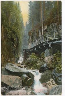 Karkonosze - Wąwóz Kamieńczyka Zackelklamm 1915