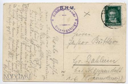 Karkonosze Śnieżka Schneekoppe 1928