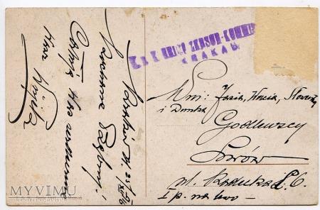 Dachshund - Jamnik - rodzinka - 1916