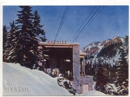 Kolejka na Kasprowy Wierch - Kużnice 1962